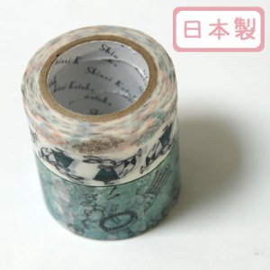 A Story Masking Tape マスキングテープ3巻セット[usagialice]