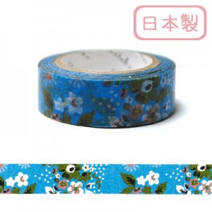 【ゆうパケット対応】マスキングテープ(15mm幅)[flower3]