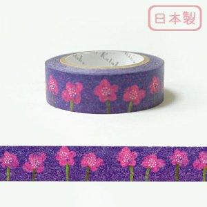 【ゆうパケット対応】いろは和紙テープ(15mm幅)[花]