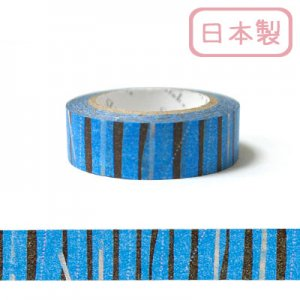 【ゆうパケット対応】いろは和紙テープ(15mm幅)[ばーちかる]