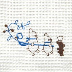 ふきぴか 刺繍タイプ[3ベアーズ]