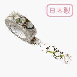 【ゆうパケット対応】Masking Tape Plus -Parisランタン-[Sorabear stroll](15mm幅)