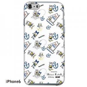 【ゆうパケット対応】iPhone6ケース[ドナルド WHITE]