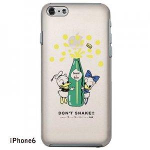 【ゆうパケット対応】iPhone6・6Plusケース[ドナルド&デイジー(クリア)]