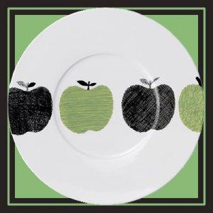 メーレ 31cmプレスプレート[four apples]