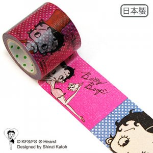 Wide マスキングテープ(42mm幅)[Betty Boop]
