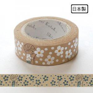 【ゆうパケット対応】クラフトデコレーションテープ-きらぴか-[present]