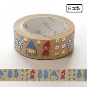 【ゆうパケット対応】クラフトデコレーションテープ-きらぴか-[little girl]