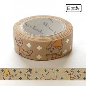 【ゆうパケット対応】クラフトデコレーションテープ-きらぴか-[pino]