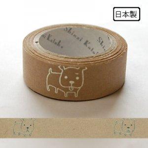 【ゆうパケット対応】クラフトデコレーションテープ-きらぴか-[peko]