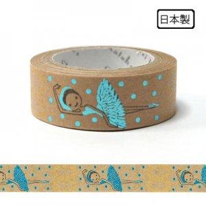【ゆうパケット対応】クラフトデコレーションテープ-きらぴか-[Ballet swan lake]