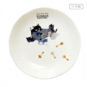Cat Cat Cat ケーキ皿[トランク]
