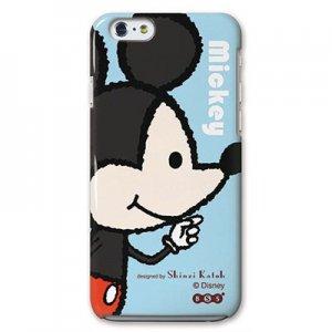 【ゆうパケット対応】iPhone6ケース[Mickey&Minnie_Mickey]