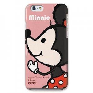 【ゆうパケット対応】iPhone6ケース[Mickey&Minnie_Minnie]