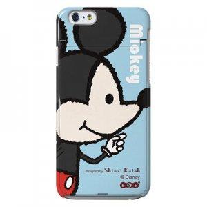 【ゆうパケット対応】iPhone6ミラーケース[Mickey&Minnie_Mickey]