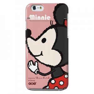 【ゆうパケット対応】iPhone6ミラーケース[Mickey&Minnie_Minnie]