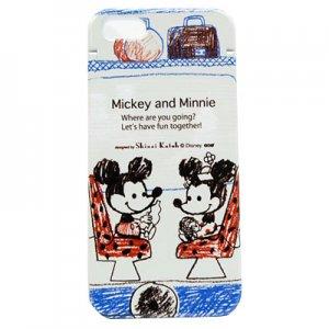 【ゆうパケット対応】iPhone6ミラーケース[Mickey&Minnie_trip]
