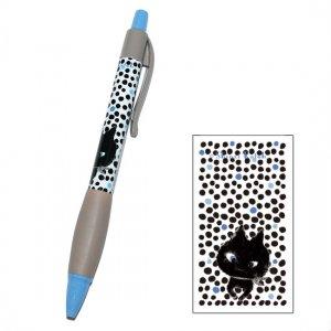 【ゆうパケット対応】ボールペン_Monochrome cat