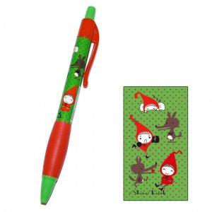 【ゆうパケット対応】ボールペン_Red hood pochon