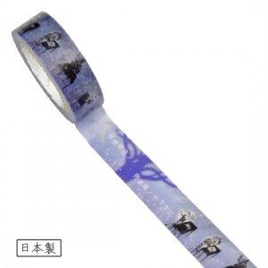 【ゆうパケット対応】マスキングテープ(15mm幅)[猫の事務所]