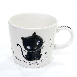 スープマグカップ[Blackネコ(C)]