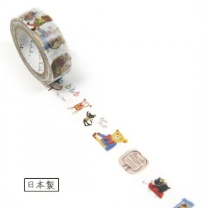 【ゆうパケット対応】マスキングテープ(15mm幅)[dolly`s]