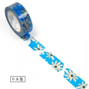 【ゆうパケット対応】マスキングテープ(15mm幅)[flower bird]