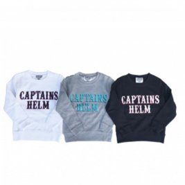 <img class='new_mark_img1' src='//img.shop-pro.jp/img/new/icons1.gif' style='border:none;display:inline;margin:0px;padding:0px;width:auto;' />CAPTAINS HELM #LOCALS LOGO KIDS SWEAT