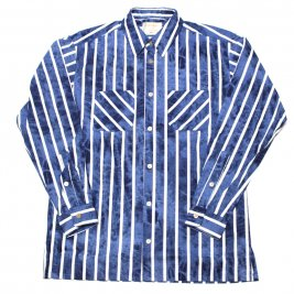 <img class='new_mark_img1' src='//img.shop-pro.jp/img/new/icons1.gif' style='border:none;display:inline;margin:0px;padding:0px;width:auto;' />Mr.GOODMAN / Striped long shirts