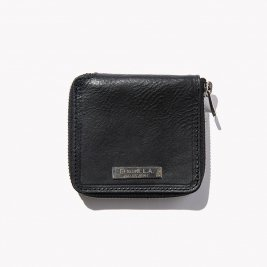 <img class='new_mark_img1' src='//img.shop-pro.jp/img/new/icons50.gif' style='border:none;display:inline;margin:0px;padding:0px;width:auto;' />CALEE / Silver plate round zip leather short wallet