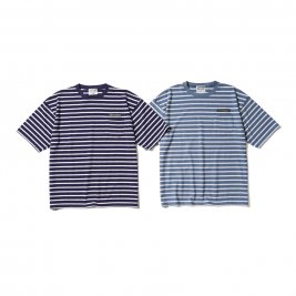 <img class='new_mark_img1' src='https://img.shop-pro.jp/img/new/icons50.gif' style='border:none;display:inline;margin:0px;padding:0px;width:auto;' />CAPTAINS HELM / PILE BORDER POCKET TEE