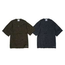 <img class='new_mark_img1' src='https://img.shop-pro.jp/img/new/icons50.gif' style='border:none;display:inline;margin:0px;padding:0px;width:auto;' />CAPTAINS HELM / TOWN CRAFT x CHT #LEOPARD RAYON B.B. SHIRTS
