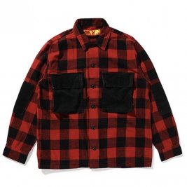 <img class='new_mark_img1' src='https://img.shop-pro.jp/img/new/icons50.gif' style='border:none;display:inline;margin:0px;padding:0px;width:auto;' />CHALLENGER / L/S BUFFALO CHECK SHIRT
