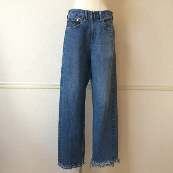 <img class='new_mark_img1' src='//img.shop-pro.jp/img/new/icons5.gif' style='border:none;display:inline;margin:0px;padding:0px;width:auto;' />【77circa】circa make fringe denim pants