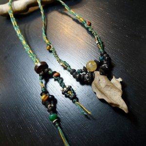 デザイン流木ネックレス