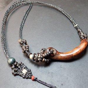バイオ流木ネックレス