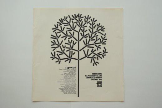 雑誌広告olivetti 2 ヴィンテージポスター