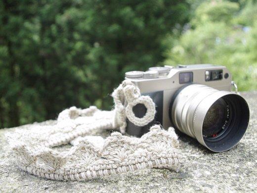 ヘンプ(麻)  カメラ ストラップ|トリ...