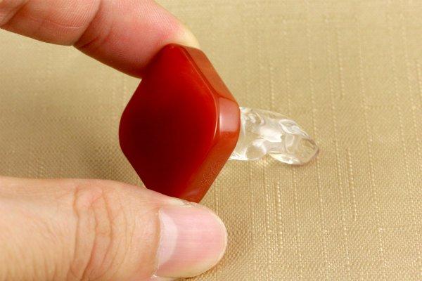 水晶 観音様×赤メノウ 15g