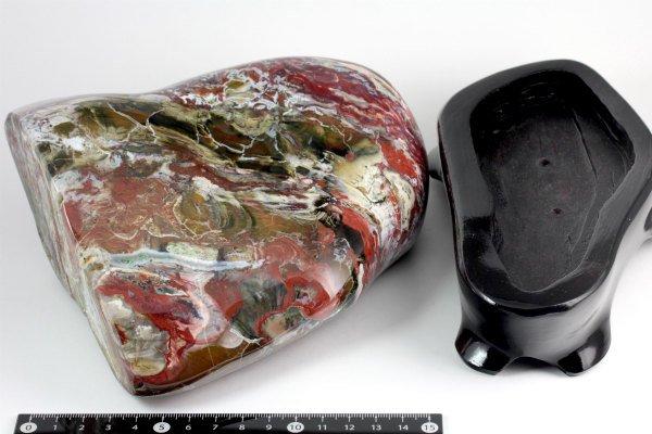 佐渡 錦紅石 置石 2.3kg