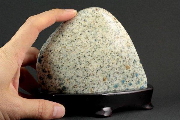 K2ブルー 置石 611g