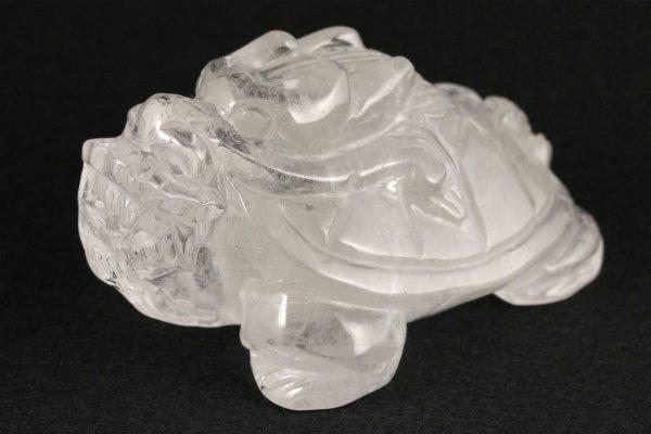 水晶 龍亀 148g