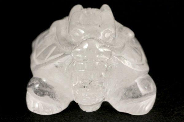水晶 龍亀 181g