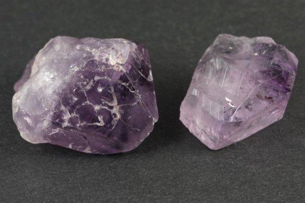 アメジスト 結晶 2個セット18g