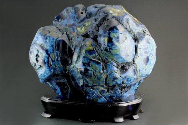 青瑪瑙 置石 9kg