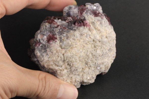 母岩付きルベライト 原石 280g