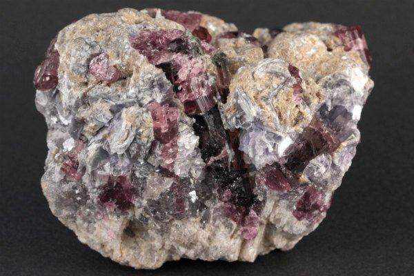 母岩付きルベライト 原石 258g