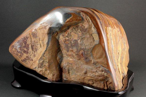 アイアンタイガーアイ 置石 6.2kg