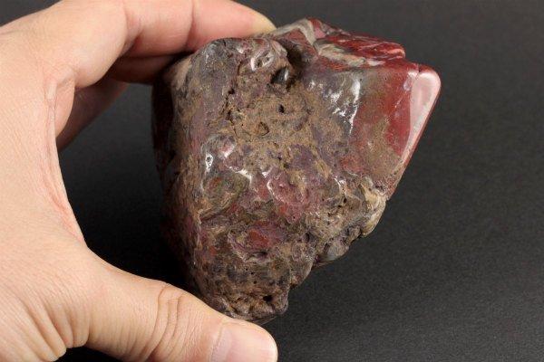 今金産ジャスパー 原石 磨き 402g