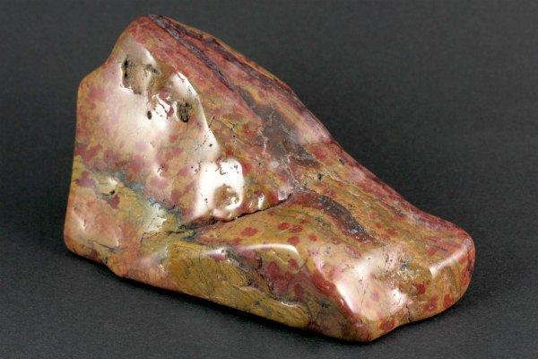 下仁田産ジャスパー 原石 磨き 316g